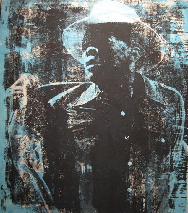 John Lee Hooker - Stephane Korb Art