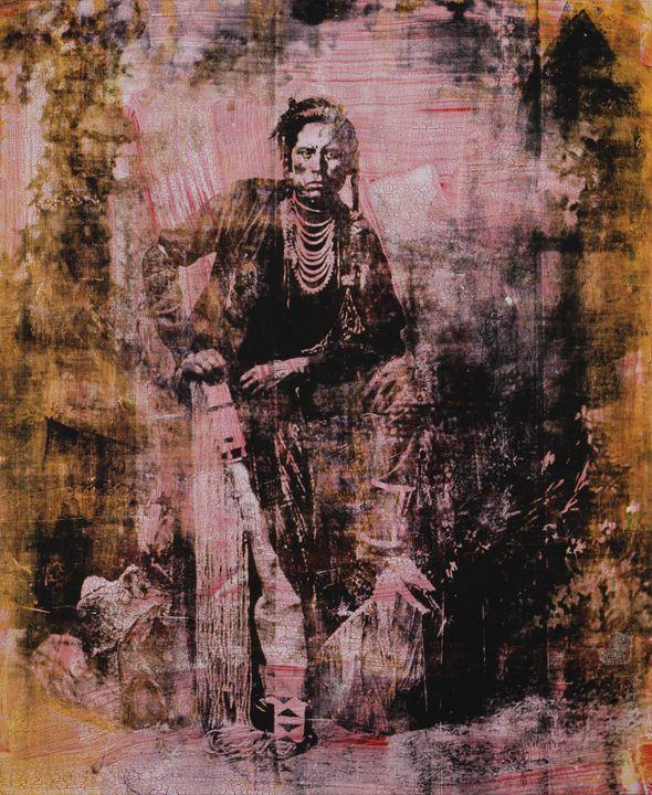 ashishishe. Crow.1878 - Stephane Korb Art