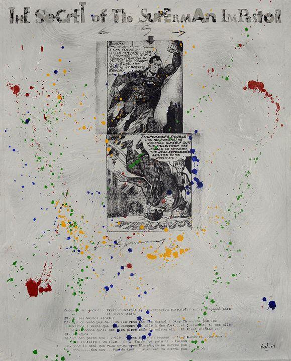 The secret of the Superman Impostor - Stephane Korb Art