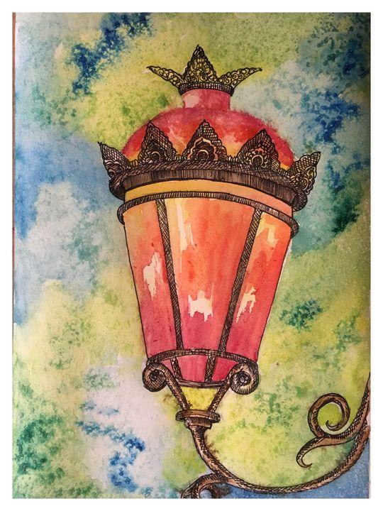 The lamp - Madhavi's art