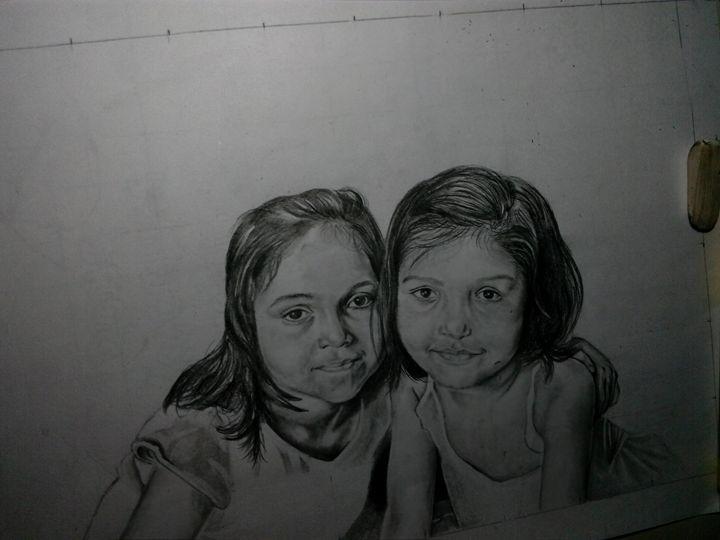 Sisters - Sketchingworld