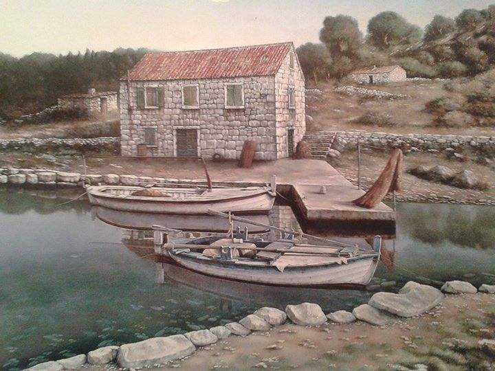 House and boats - Davor Subotić