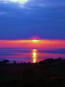 San Feliciano sunset