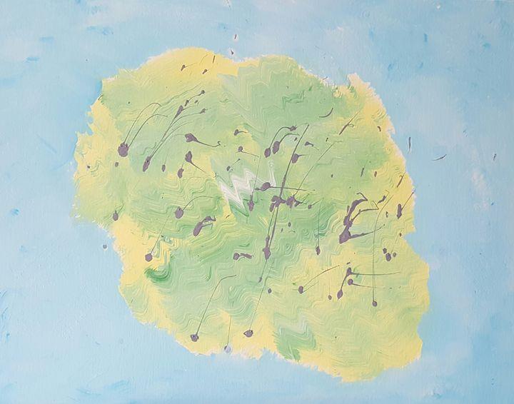 Swarm in Spring - AMYTINDALLART