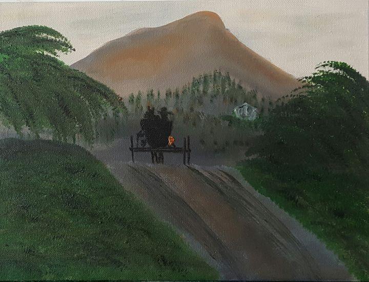 Heading Home - AMYTINDALLART