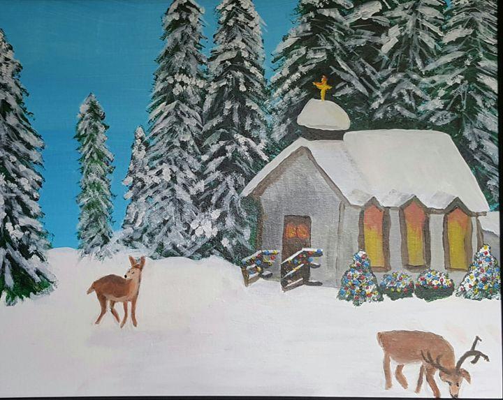 Christmas Morning - AMYTINDALLART