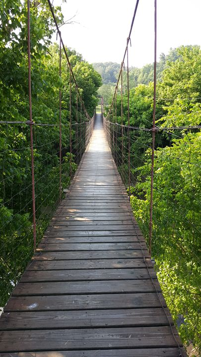 Swinging Bridge - AMYTINDALLART