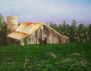 Large Barn in Spring fields