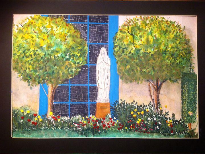 """White Angel"" - SJB Norfolk Artist"