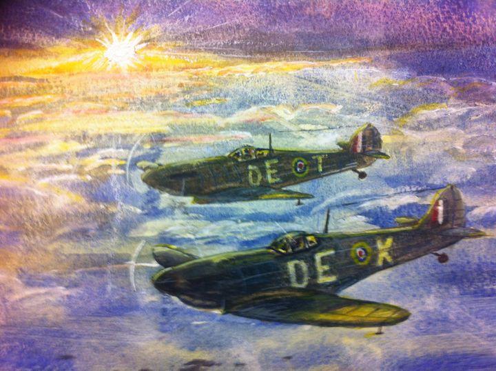Buddies - SJB Norfolk Artist