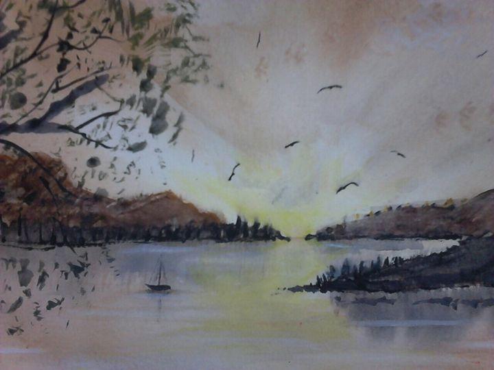 lone anchor - SJB Norfolk Artist