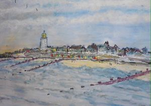 Southwold SJB artist Original SOLD