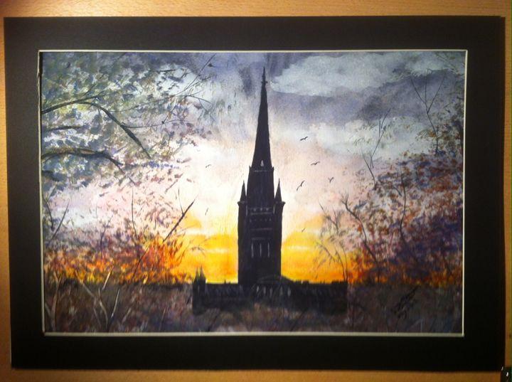 Norwich Cathedral - SJB Norfolk Artist