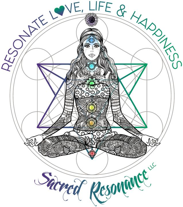 Resonate Love Life and Happiness - Sacred Resonance Art