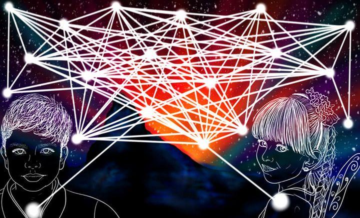 Sacred Child Web - Sunrise - Sacred Resonance Art