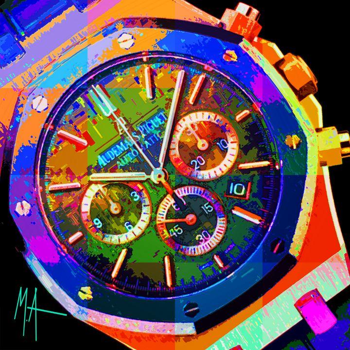 Tick Tock - M. Arango Art