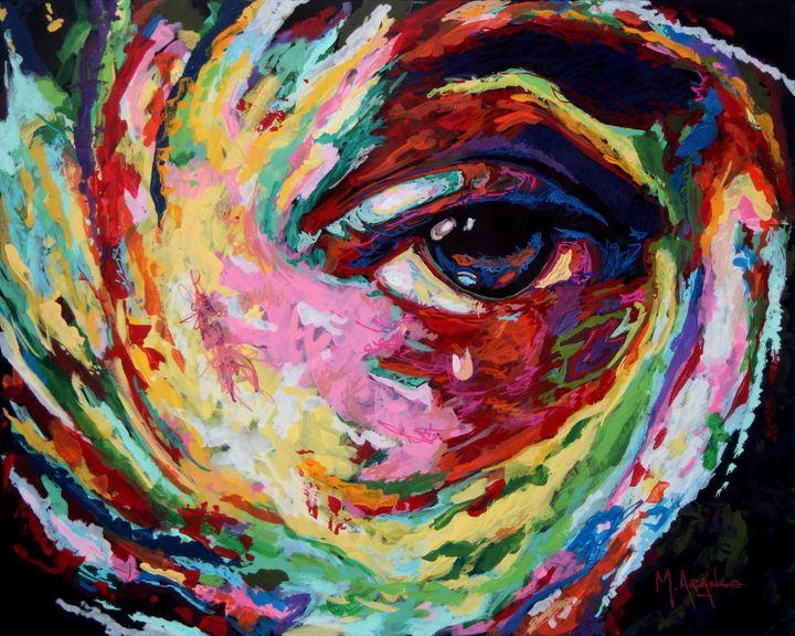 Eye Of The Storm - M. Arango Art