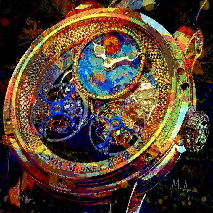 Louis Moinet Timepiece - M. Arango Art