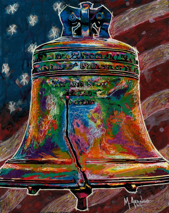 The Liberty Bell - M. Arango Art