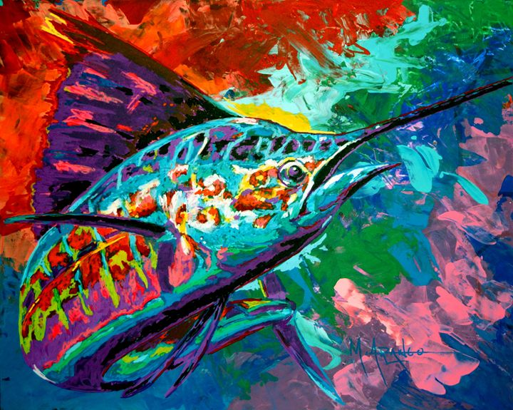 Sailfish - M. Arango Art