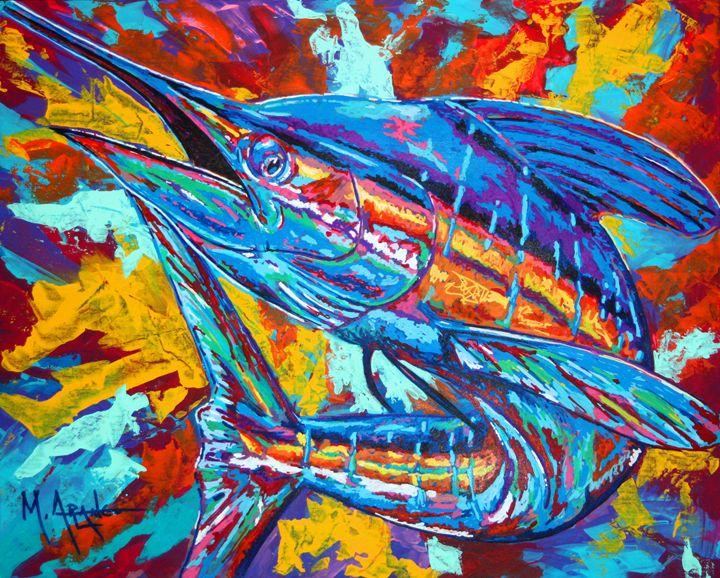 Marlin Explosion - M. Arango Art