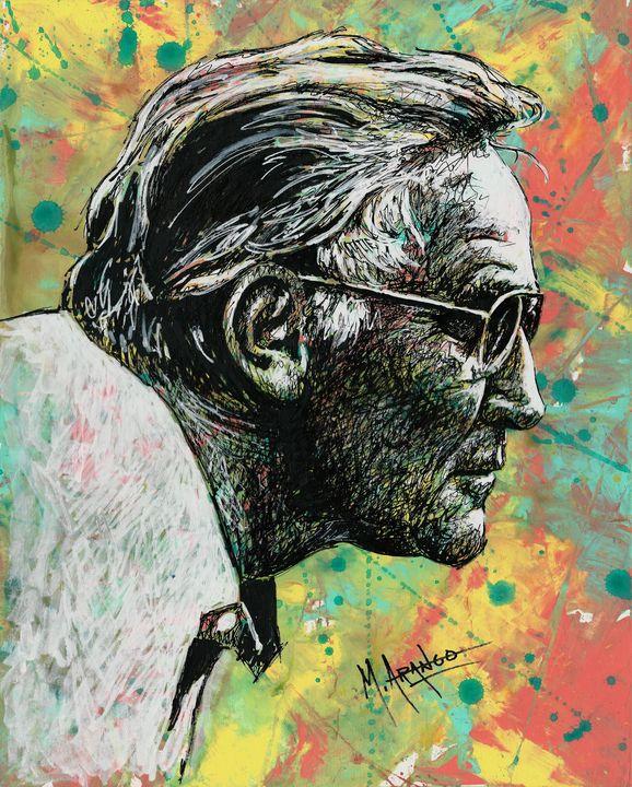 The Profile - M. Arango Art