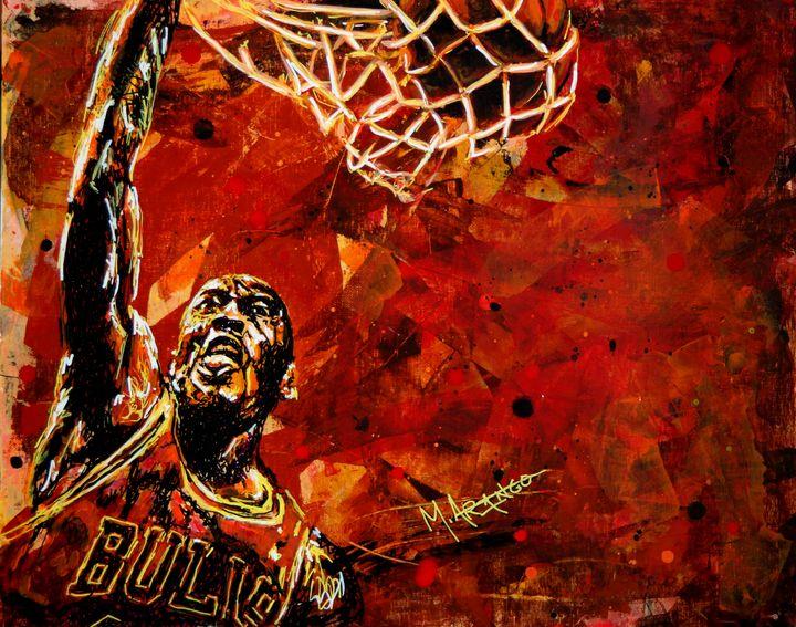 Michael Jordan - M. Arango Art