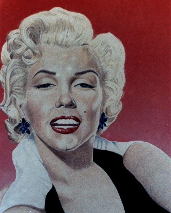 Marilyn Monroe - M. Arango Art