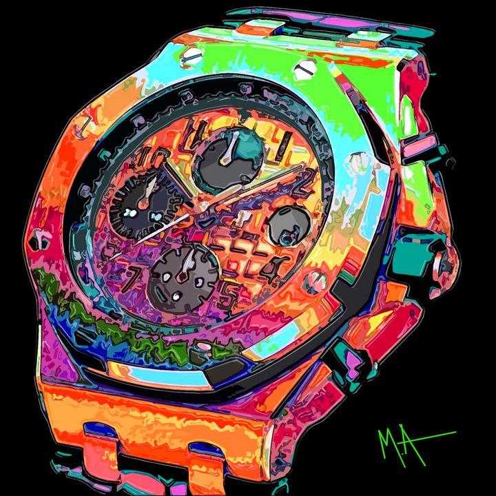 Watch This - M. Arango Art