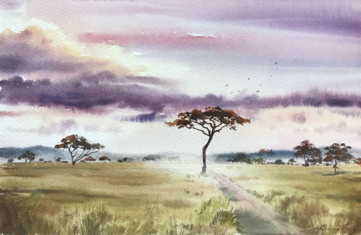 African Savannah - Eugenia Gorbacheva