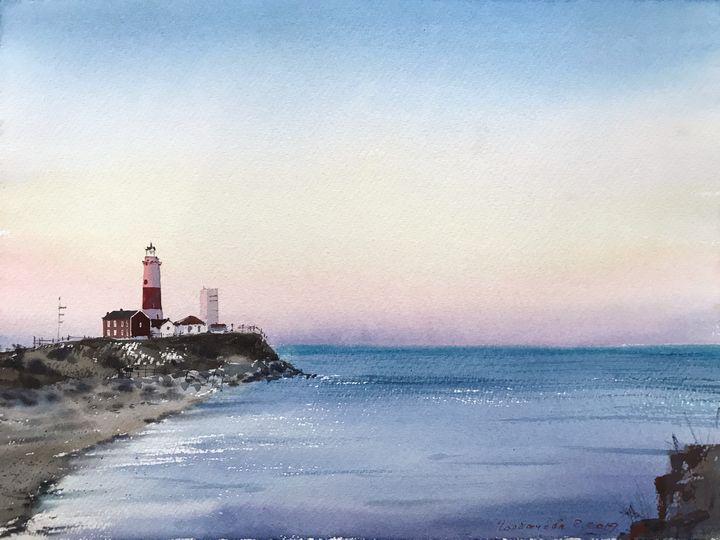 Lighthouse, New Zealand - Eugenia Gorbacheva