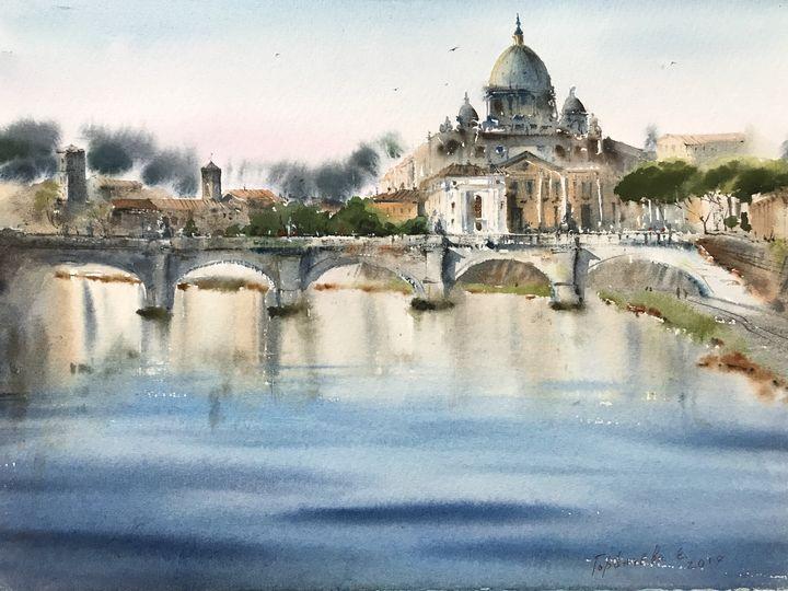 Roma, Italy - Eugenia Gorbacheva