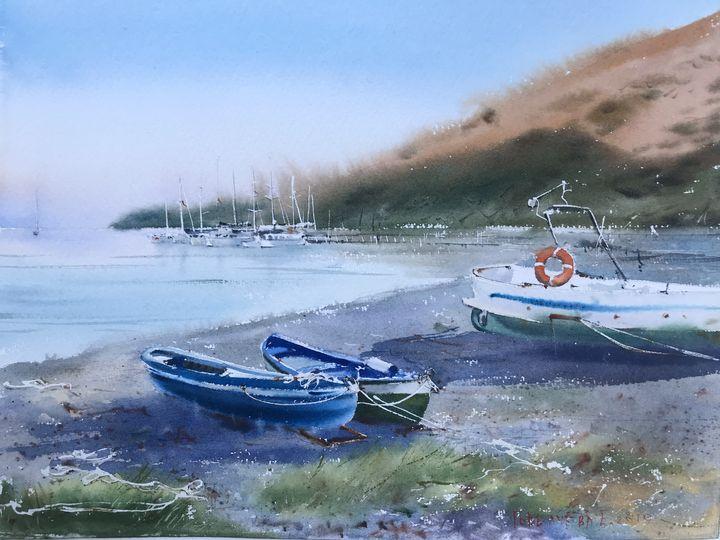 Boats - Eugenia Gorbacheva
