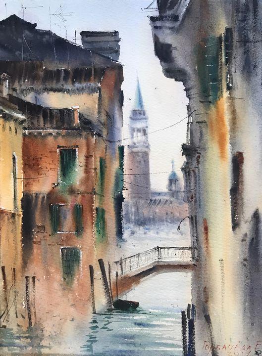 Venice, Italy - Eugenia Gorbacheva