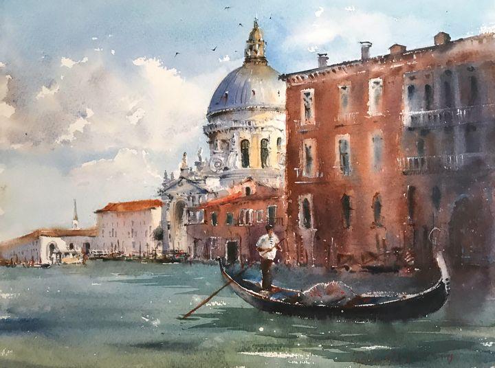 Canal Grande, Venice, Italy - Eugenia Gorbacheva
