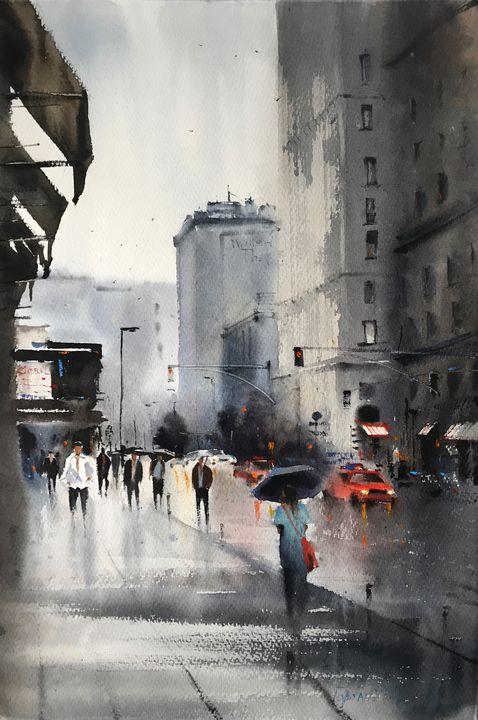 Street of New York - Eugenia Gorbacheva