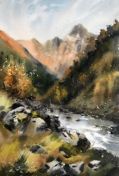 Mountain Creek - Eugenia Gorbacheva