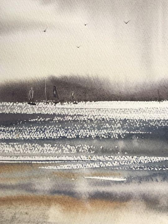 Northern seascape #4 - Eugenia Gorbacheva