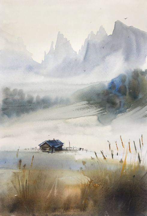 Nordic landscape #1 - Eugenia Gorbacheva