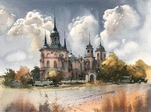 Gothic church (Bykovo), Russia