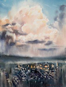 City Cloudscape at Sunrise #2
