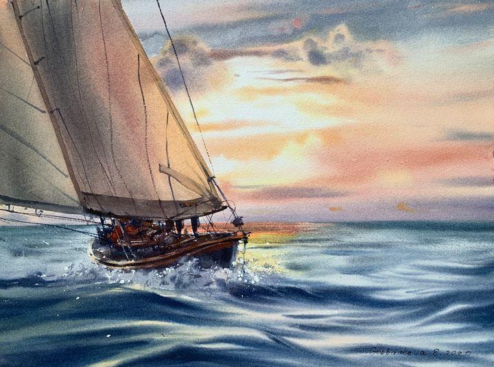 Fair winds #8 - Eugenia Gorbacheva