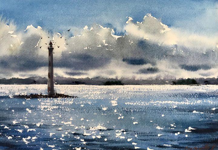 Lighthouse - Eugenia Gorbacheva