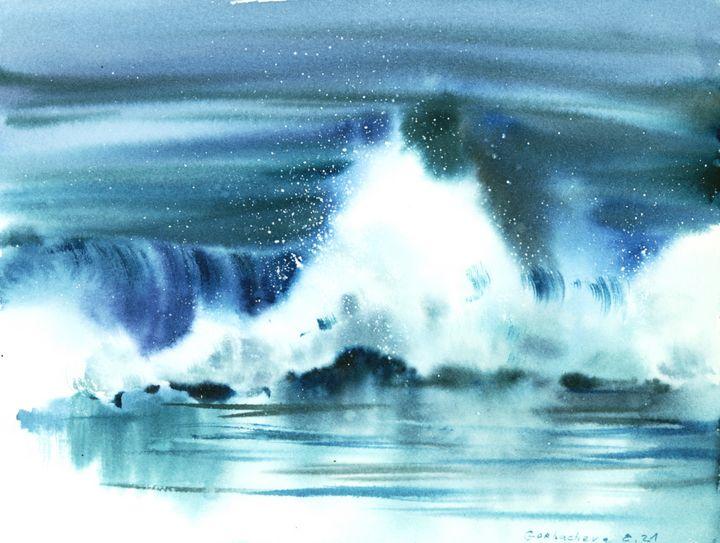 Waves In The Sea #3 - Eugenia Gorbacheva