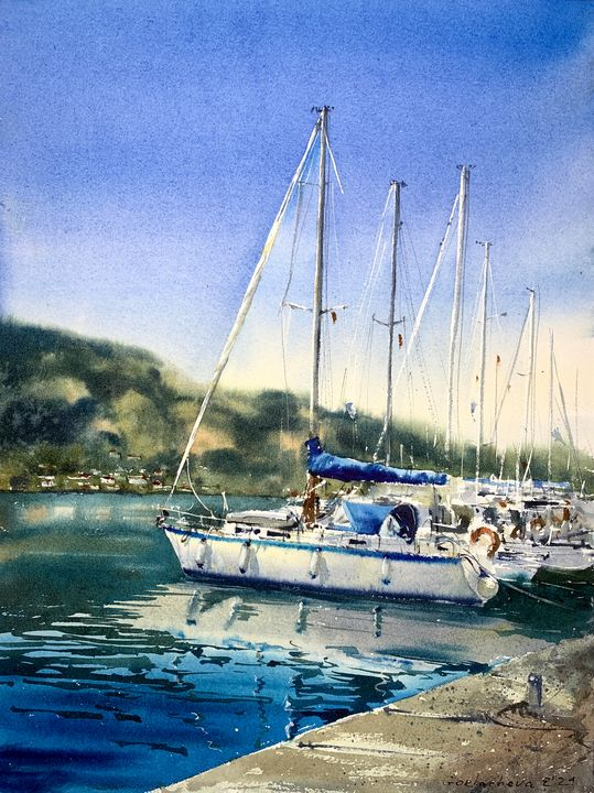 Yacht #2, Montenegro - Eugenia Gorbacheva