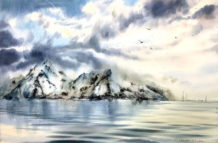 Scandinavian seascape - Eugenia Gorbacheva
