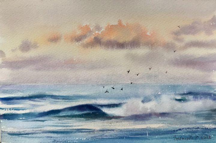 Wave in the ocean - Eugenia Gorbacheva