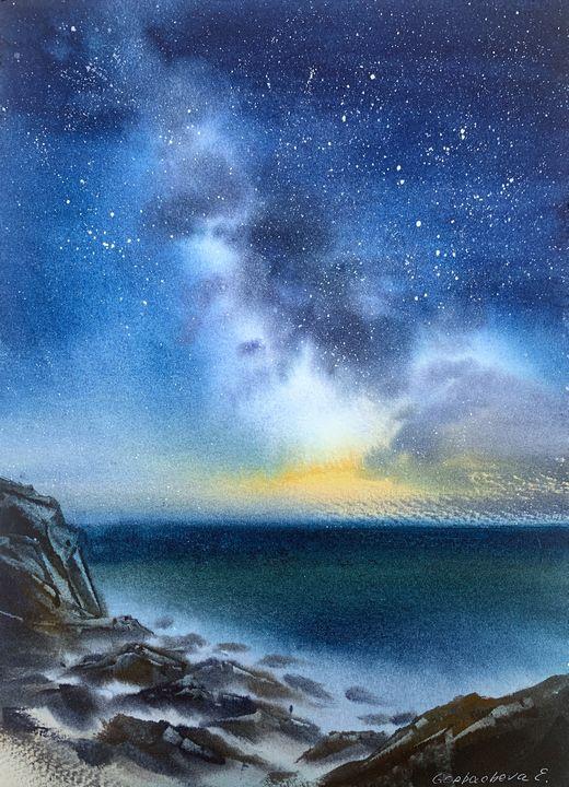 Milky Way #4 - Eugenia Gorbacheva
