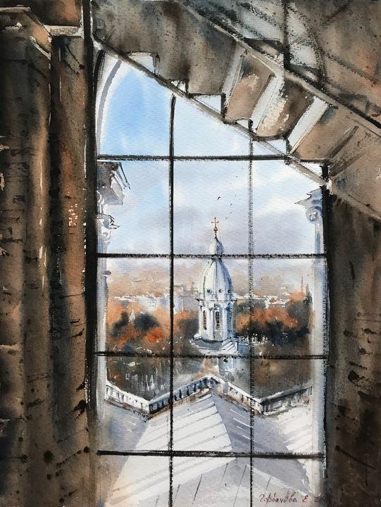 Window, The Smolny Cathedral - Eugenia Gorbacheva