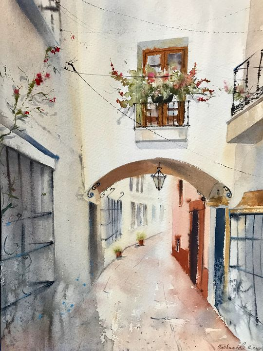 Arch in Marbella, Spain - Eugenia Gorbacheva